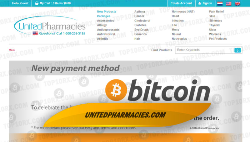 Unitedpharmacies.com Review - Moved to a New Domain