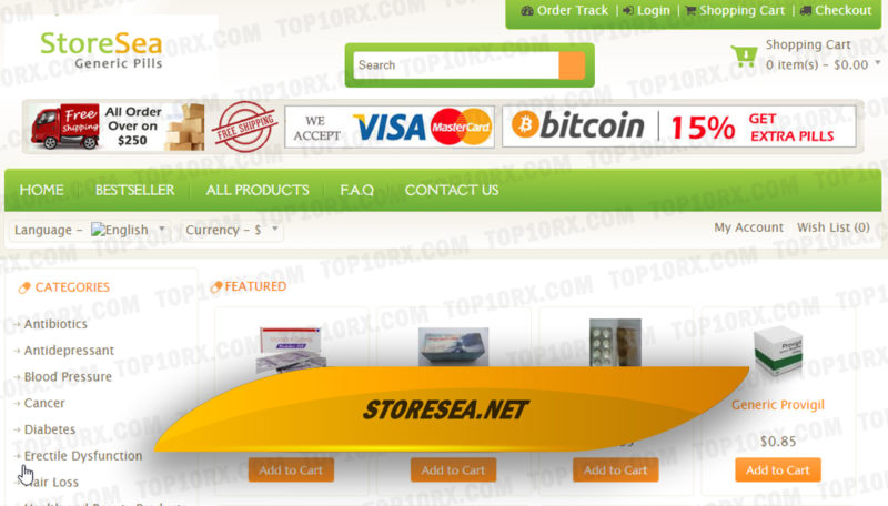 Storesea.net Review – A Closed Med Store with No Proof of Quality Services
