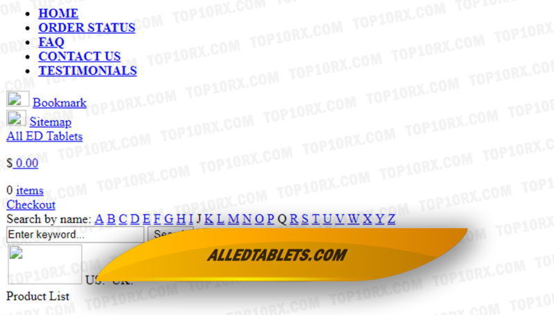 Alledtablets.com Review - An Online Pharmacy with Tons of Positive Customer Reviews