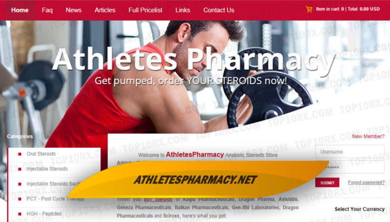 Athletespharmacy.net Reviews – A Potentially Great Steroid Pharmacy with Slightly High Prices