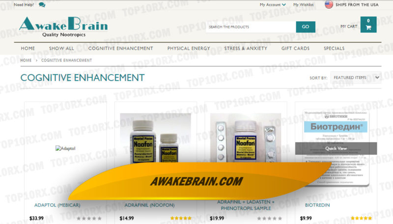 Awakebrain.com Review – A Specialty Pharmacy that Sold Nootropics Now Closed
