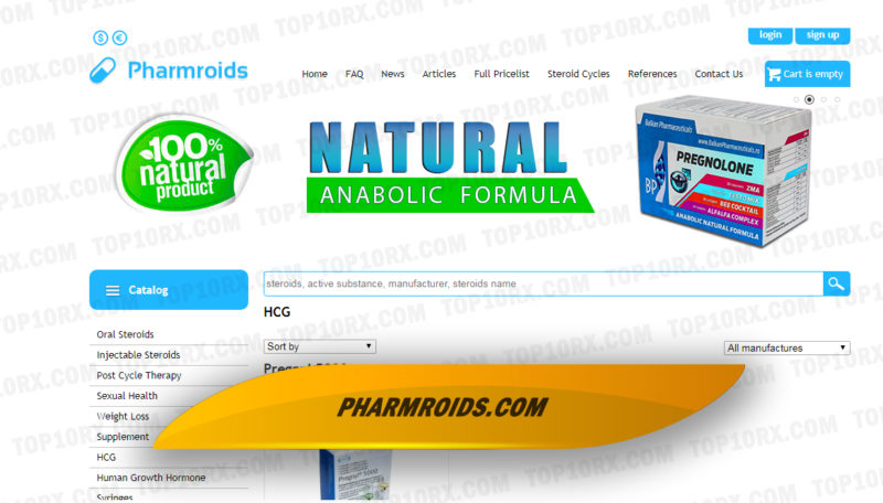 Pharmroids.com Review – Large Selection of the Most Popular Steroid Products
