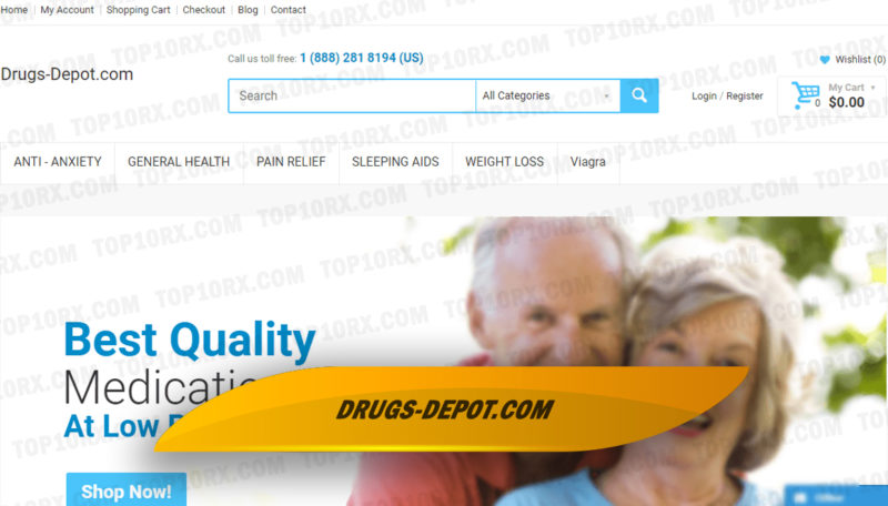 Drugs-Depot.Com Review – A Pharmacy with a Limited Catalog and Unproven Efficiency