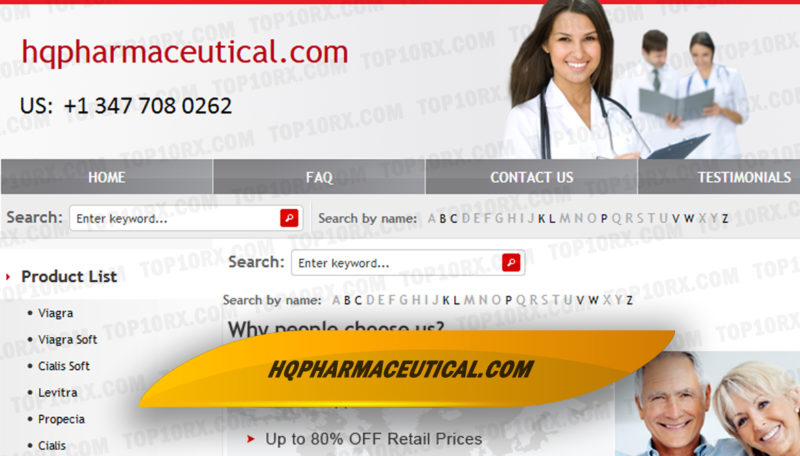 Hqpharmaceutical.com Review - Free Shipping of Medications to all Destinations