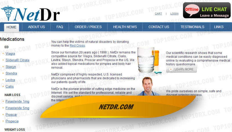 Netdr.com Review - Pricey Online Pharmacy with a Limited Drug Selection