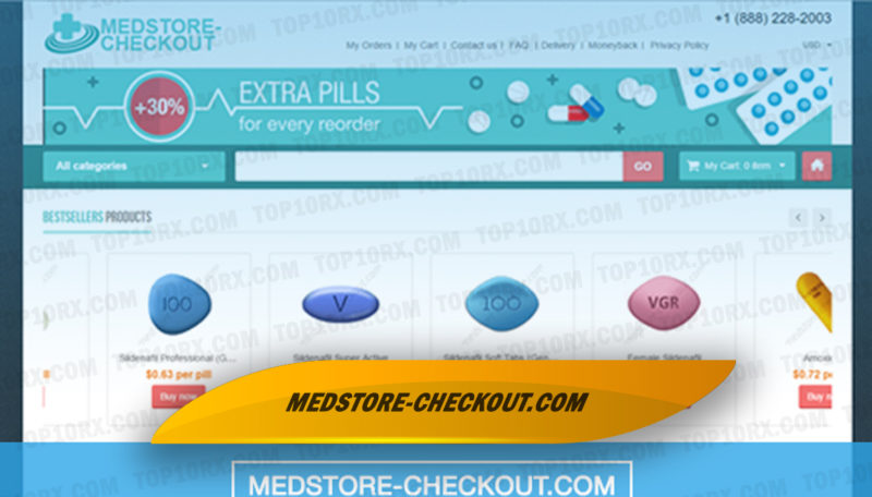 Medstore-checkout.com Review – A Possibly Scam Store Seized in a Campaign to Eliminate Cheap Online Meds