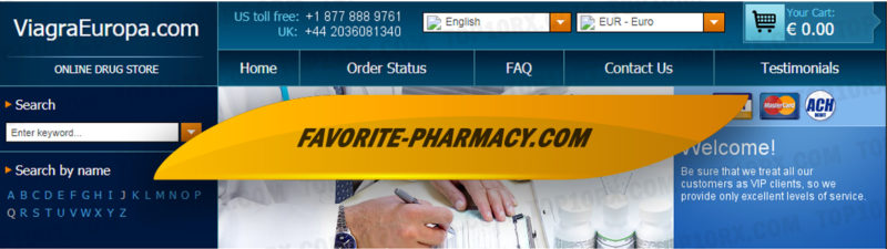 Viagraeuropa.com Review – A Closed Pharmacy with Limited Medicine Categories